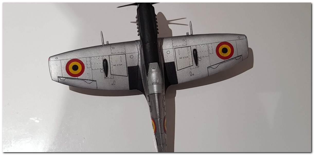 [Fujimi] Spitfire F Mk XIV Belgian Air Force circa 1952 20181105_213017s