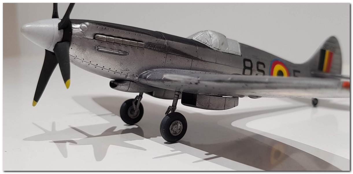 [Fujimi] Spitfire F Mk XIV Belgian Air Force circa 1952 20181105_213351s