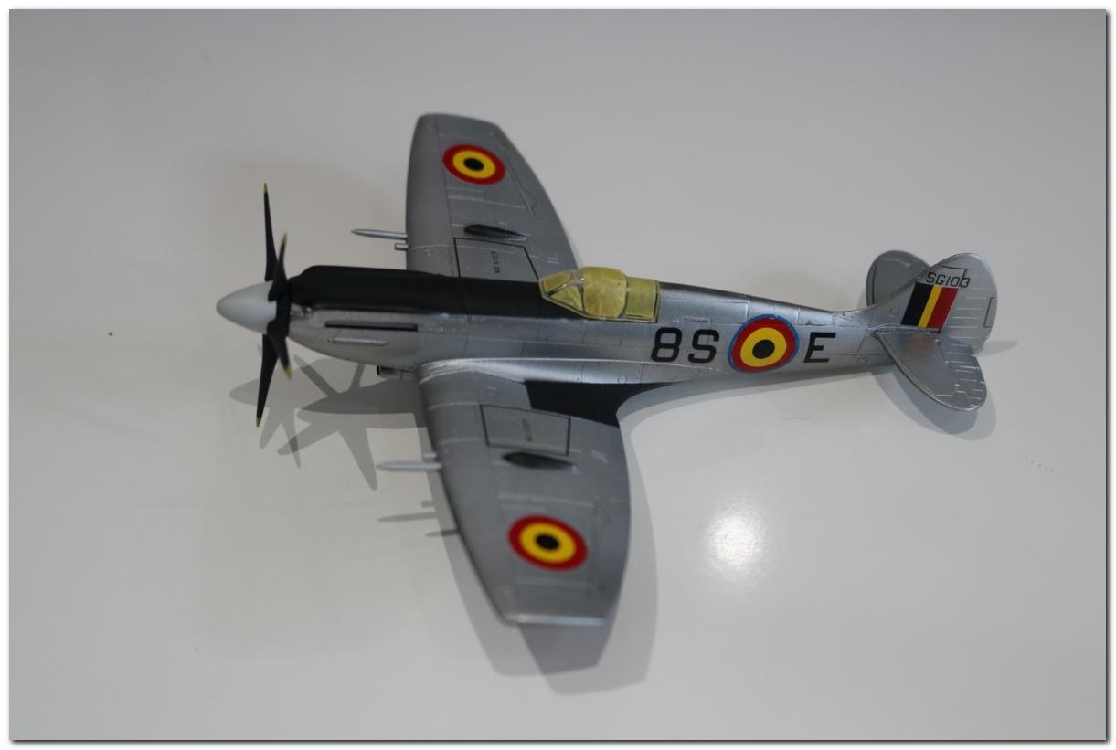 [Fujimi] Spitfire F Mk XIV Belgian Air Force circa 1952 IMG_5451s