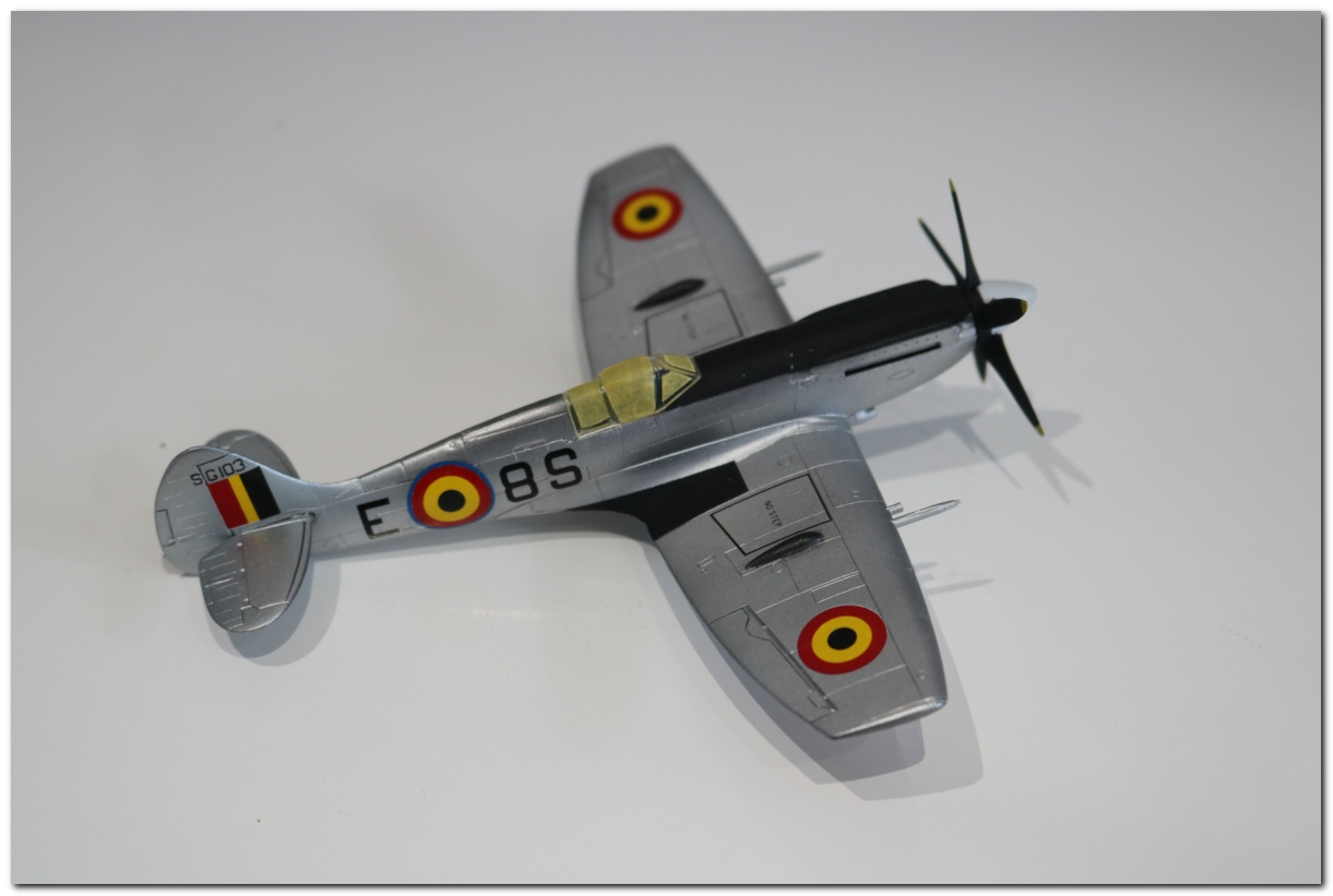 [Fujimi] Spitfire F Mk XIV Belgian Air Force circa 1952 IMG_5453s