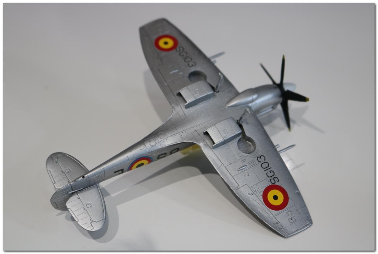 [Fujimi] Spitfire F Mk XIV Belgian Air Force circa 1952 IMG_5455s