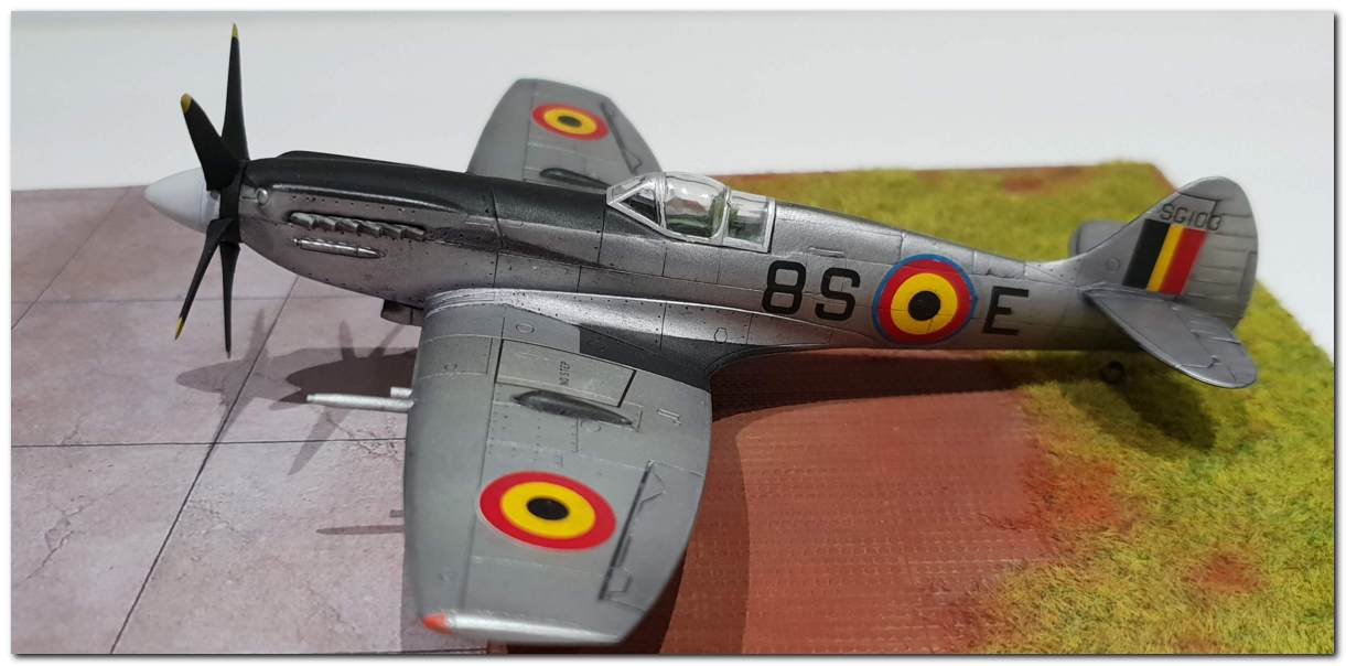 [Fujimi] Spitfire F Mk XIV Belgian Air Force circa 1952 20181231_163346s