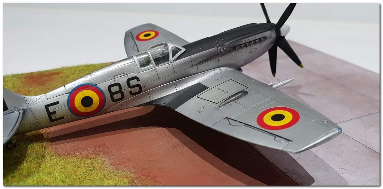 [Fujimi] Spitfire F Mk XIV Belgian Air Force circa 1952 20181231_163424s