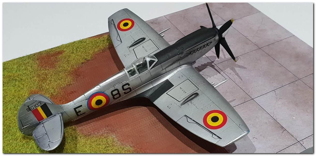 [Fujimi] Spitfire F Mk XIV Belgian Air Force circa 1952 20181231_163438s