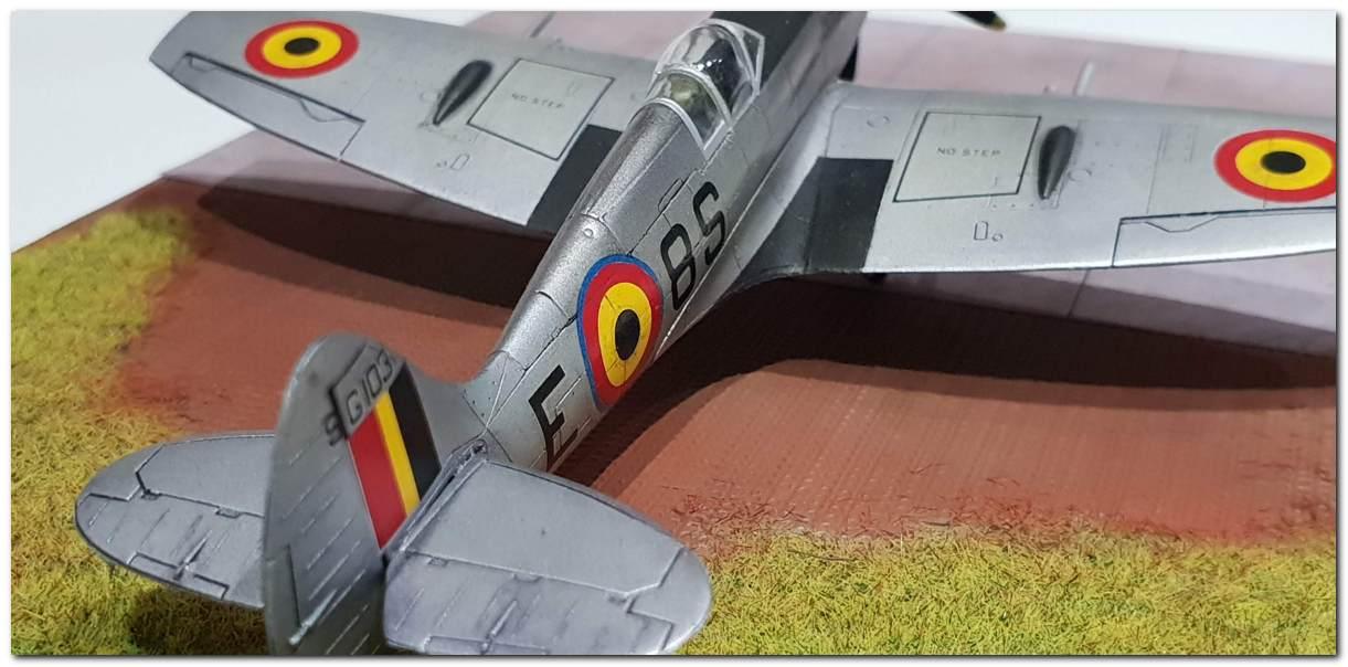 [Fujimi] Spitfire F Mk XIV Belgian Air Force circa 1952 20181231_163447s